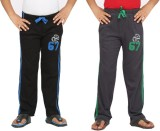 Greenwich Track Pant For Boys (Black)