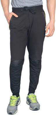 London Eye Embellished Men's Black Track Pants