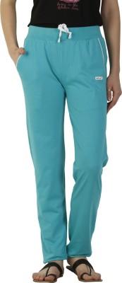 Duke Stardust Solid Women,s Blue Track Pants
