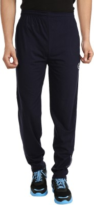 Forever19 Basic Solid Men's Dark Blue Track Pants