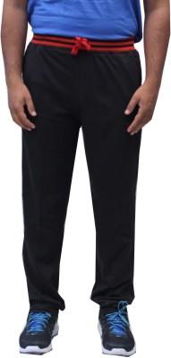 Romano Solid Men's Black Track Pants