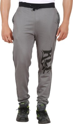 Ronnie Coleman Clothing Printed Men's Grey Track Pants
