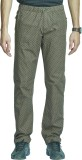 Beevee Printed Men's Green Track Pants