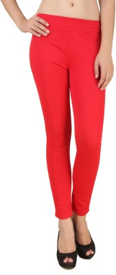 Fame16 Solid Women's Red Track Pants at flipkart