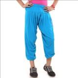 Menthol Track Pant For Girls (Blue)