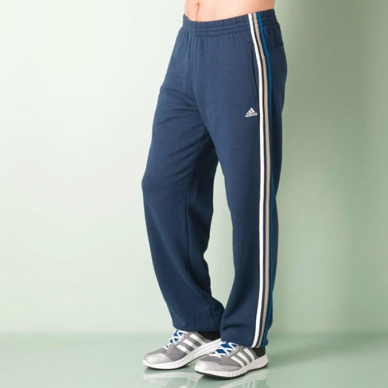 Adidas Solid Men's Blue Track Pants