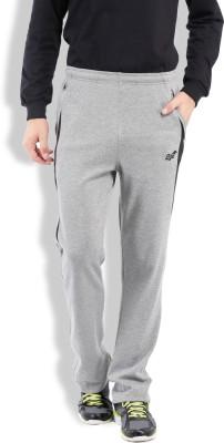 2go Solid Men's Grey, Black Track Pants