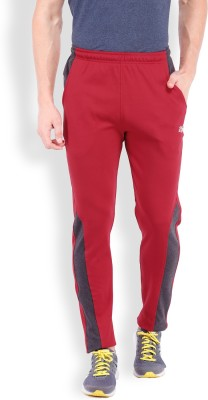 2go Solid Men's Red Track Pants