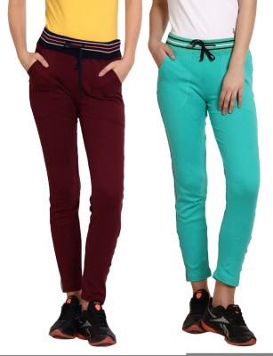 Softwear Solid Women's Maroon Track Pants