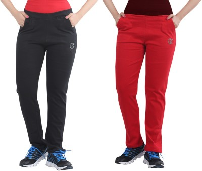 Bfly Solid Women's Multicolor Track Pants