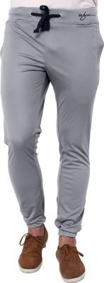 Wear Your Mind Printed Men's Grey Track Pants