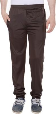 Kalrav Solid Men's Brown Track Pants