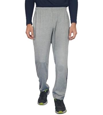 London Eye Solid Men's Grey Track Pants