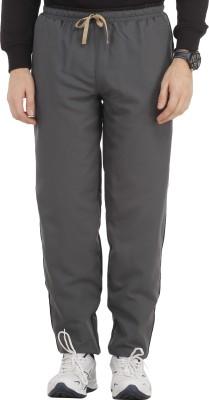 SPAWN Solid Men,s Grey Track Pants
