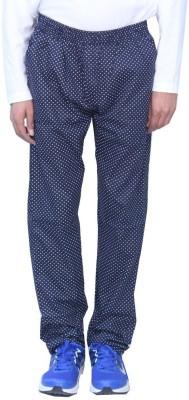 Romano Printed Men's Blue Track Pants