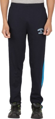 Greenwich Solid Men's Blue Track Pants
