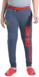 Red Ring Track Pant For Boys (Blue)