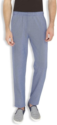 AVOQ-Style Reboot Self Design, Solid Men's Blue Track Pants