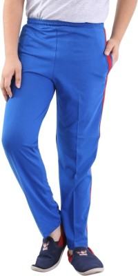 Fizzi Pro Solid Men's Blue Track Pants
