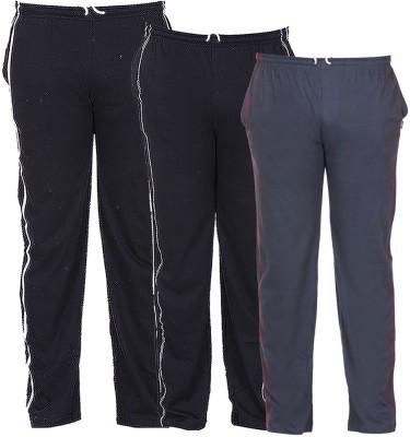 TeesTadka Solid Mens Multicolor Track Pants
