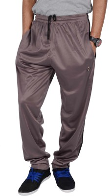 Mountain Colours Solid Men's Brown Track Pants