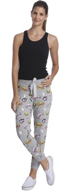 Only Printed Women's Grey Track Pants