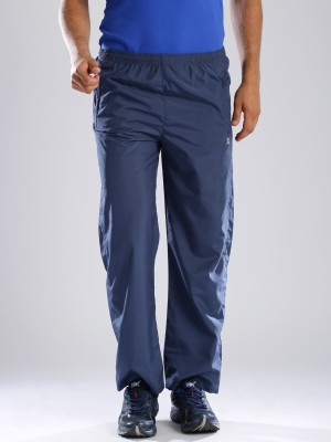 HRX by Hrithik Roshan Woven Men's Blue Track Pants