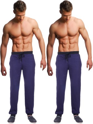 Billu Oye Solid Men's Dark Blue, Dark Blue Track Pants