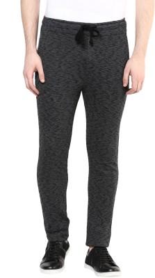 Wear Your Mind Self Design Men's Grey Track Pants