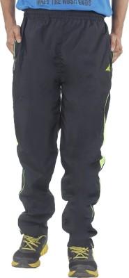 Hannspree Solid Men's Black, Green Track Pants
