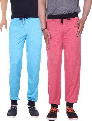 Gag Wear Solid Men's Red, Light Blue Track Pants