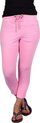 Raves Solid Women's Pink Track Pants