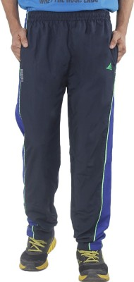 Hannspree Solid Men's Blue Track Pants