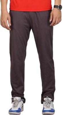 Vego Steel Grey Solid Men's Brown Track Pants