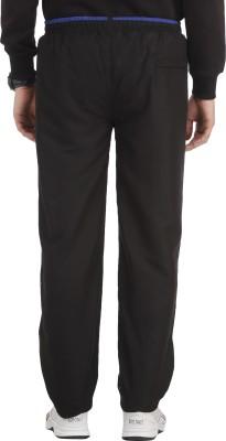 SPAWN Solid Men,s Black Track Pants