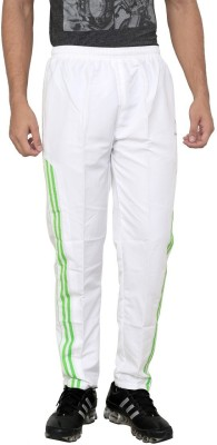 American Cult Solid Men's White Track Pants