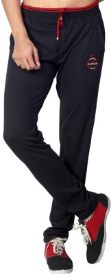 Allocate Solid Men,s Black, Red Track Pants