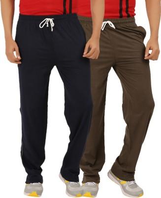 ESSDEE Solid Men's Dark Blue, Dark Green Track Pants