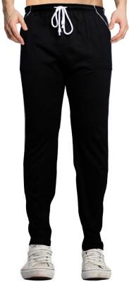 Smart Look 7 Solid Men's Black Track Pants