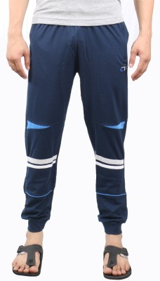 Ckl Solid Men's Blue Track Pants