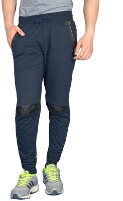 London Eye Embellished Men's Dark Blue Track Pants