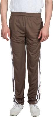 Xplore Brown Solid Solid Men's Brown Track Pants