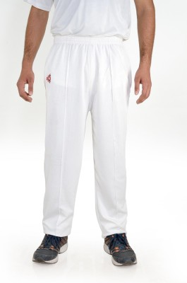 CW Woven Men's White Track Pants