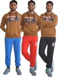 Shaun Solid Men's Red, Light Blue, Black...