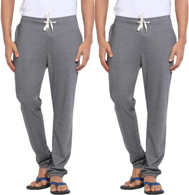 WellFitLook Cool TrackPant Solid Men's Grey, Grey Track Pants