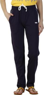 Duke Stardust Solid Women,s Purple Track Pants