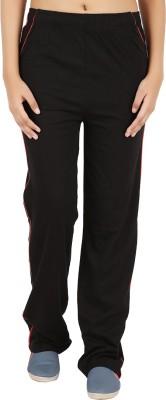 Notyetbyus Solid Women's Black Track Pants