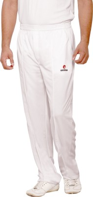 Omtex Mesh Terra Fit Solid Men,s White Track Pants