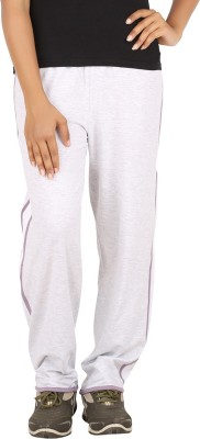Checker S Bay Solid Women's Grey Track Pants