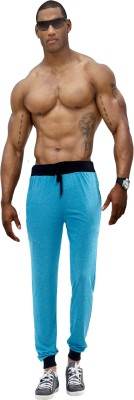 Billu Oye Solid Men's Blue Track Pants